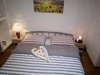 ložnice č.1 - romantika - apartmán k pronajmutí Skorošice