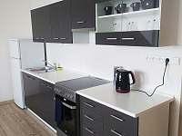 kuchyňská linka - apartmán k pronájmu Loštice