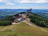 na kopci - stezka v oblacích a výstavba nejdelší lávky v oblacích v Evropě - Dolní Morava - Horní Morava