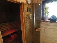 Finská sauna - pronájem apartmánu Kunčice