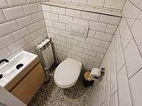 samostatné WC - apartmán k pronajmutí Kunčice