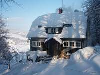 Orálkova chata - chalupa ubytování Bělá pod Pradědem