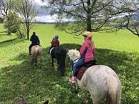 Projížďky na koních Kunčice - Malé Vrbno