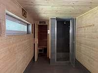 Sauna - chalupa k pronajmutí Malé Vrbno