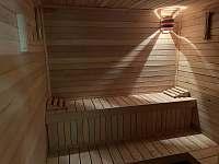 Sauna - pronájem chalupy Malé Vrbno