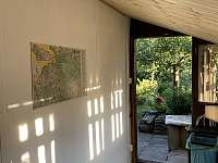 Vstupní veranda. - chata k pronajmutí Mezina