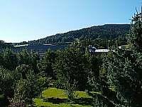 Výhled z terasy - pronájem chaty Vbno pod Pradědem