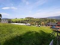 Pohled od sjezdovky - Filipovice