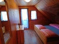 Dvoulůžkový pokoj - pronájem chaty Dolní Bušínov