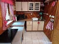 Kuchyň - chata k pronájmu Dolní Bušínov