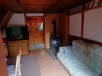 Obývací pokoj - chata k pronajmutí Dolní Bušínov