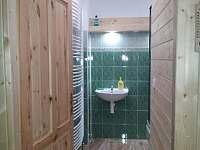 Koupelna - chalupa k pronajmutí Bělá pod Pradědem