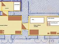 apartmán č.1 v přízemí 4x lůžko