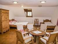 apartmán č.3 s balkónem v patře