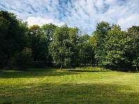 pozemek za chalupou - k pronájmu Vojtíškov