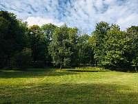 pozemek za chalupou