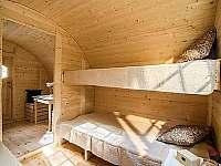 Sudy v Autokempu na Krásném - chatky ubytování Nový Malín - 5