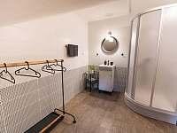 koupelna v pokoji 3 - chata k pronájmu Kouty nad Desnou