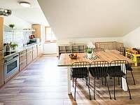 společná kuchyňka - chata ubytování Kouty nad Desnou