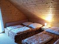 Ložnice 4lůžka - chata k pronájmu Kouty nad Desnou