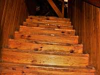 schody do podkroví 1.patra - Vápenná