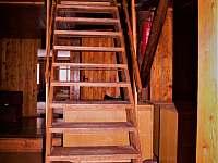 schody do podkroví 2.patra - Vápenná