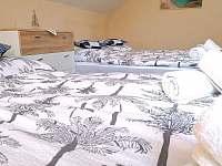 2. ložnice se 4 lůžky - apartmán k pronajmutí Bohdíkov