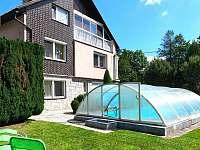 Apartman Anomis s bazénem - ubytování Bohdíkov