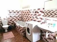 Koupelna s vanou a WC - Bohdíkov