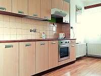 Kuchyň - apartmán k pronájmu Bohdíkov