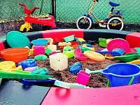 Pískoviště pro děti - Bohdíkov