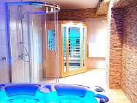 Vířivka a sauna - Bohdíkov