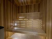 sauna - pronájem chaty Filipovice