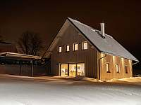 zima na chatě - Filipovice