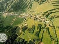 Letecký pohled na Hraběšce