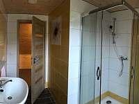 Velká chalupa - koupelna - k pronájmu Horní Lipová