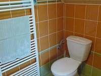 Záchod - chata k pronajmutí Ludvíkov