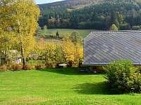 Zahrada u chaty Danuše - pronájem Ludvíkov