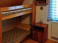 Druhá ložnice - 4 lůžka + přistýlka