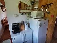 Kuchyňka - chata k pronájmu Lipová-lázně