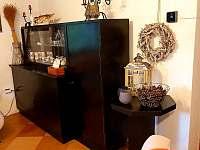Obývací pokoj - chata k pronajmutí Lipová-lázně