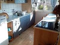 Kuchyňská linka - chalupa ubytování Vrbno pod Pradědem - Mnichov