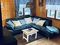 Obývací pokoj - chalupa ubytování Vrbno pod Pradědem - Mnichov