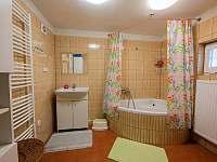 Koupelna - chalupa k pronajmutí Stará Voda