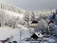 chata v údolíčku u lesa - apartmán ubytování Červená Voda - Šanov