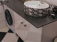 Koupelna - pronájem chalupy Velké Losiny - Bukovice