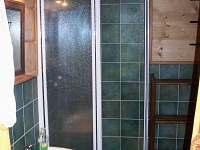 Koupelna - pronájem chalupy Olšany