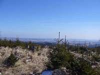 panorama Jeseníků  kousek nad chatou - cca 3km