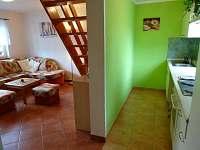 kuchyň a obývák levá chata