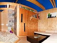 relaxační chata s finskou saunou